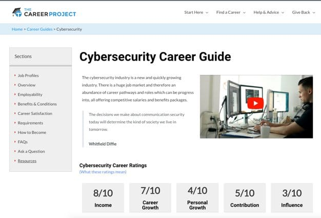 Cybersecurity Career Guide